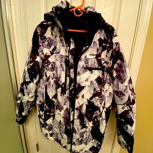 Marmot Men ski and snowboarding jacket.